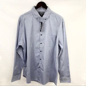 NWT Claiborne Slim Fit Blue Button Down Shirt